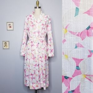 Vintage nancy ii floral bright dress